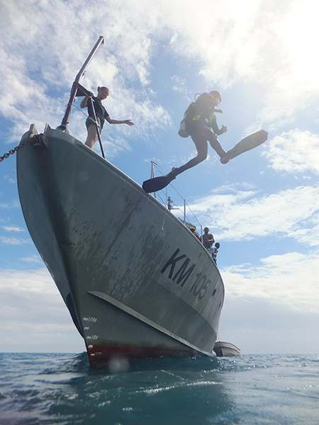 Dive Master Ship Training