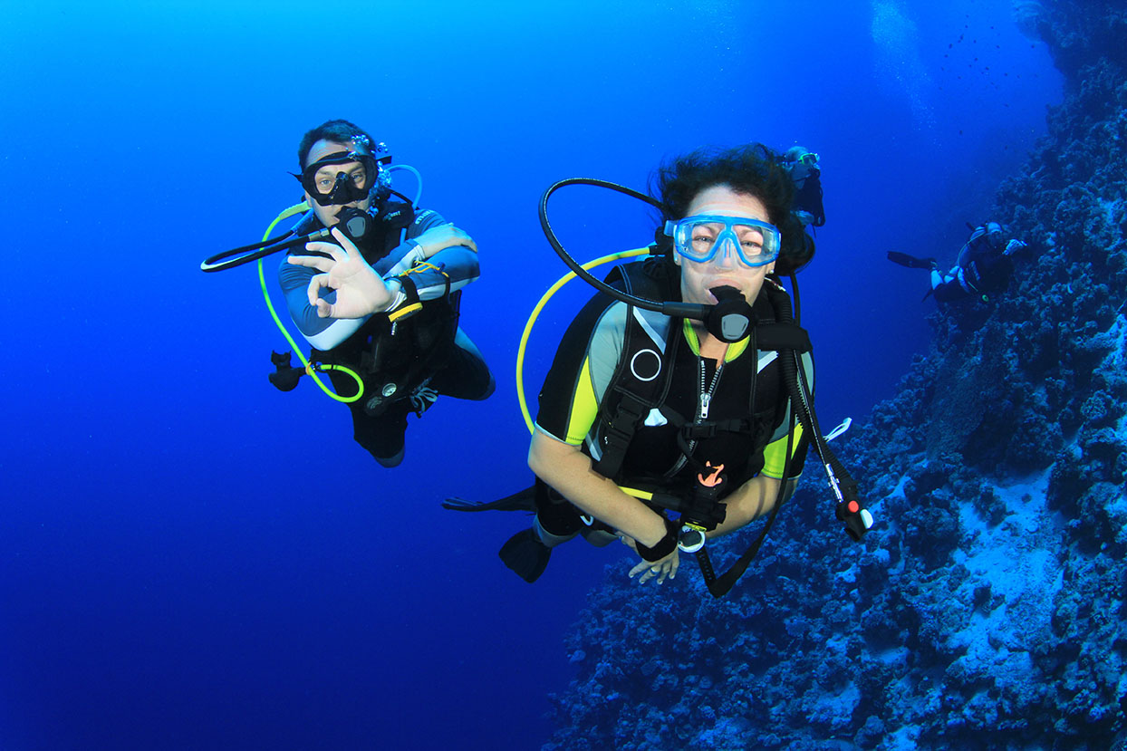 Discover SCUBA Diving - Recreational Diving  Indeep Dive ...