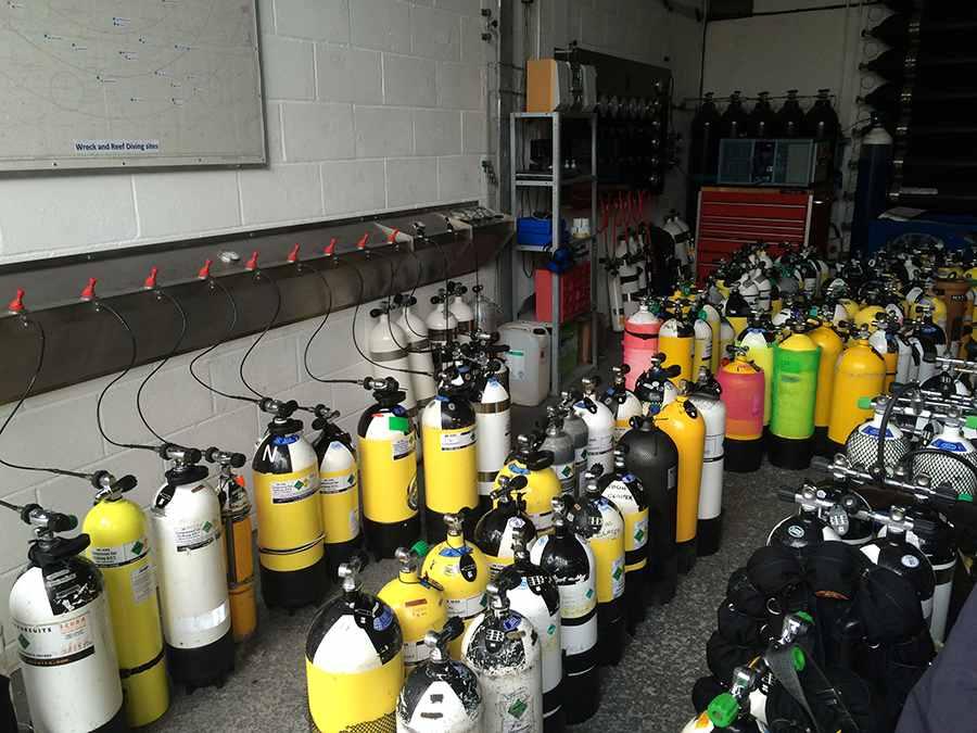 Tri Mix K : Gas prices air nitrox trimix indeep dive centre plymouth