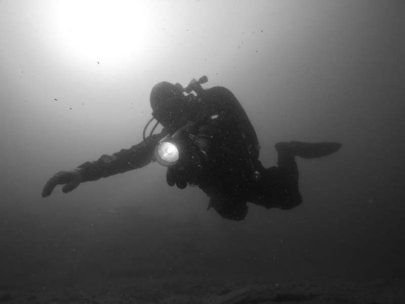 Twin Set Diving Diver