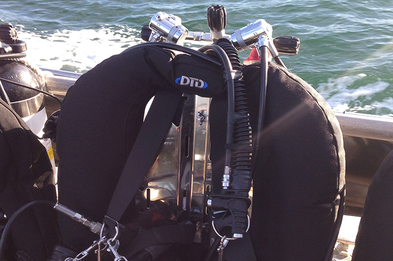 Technical diving twinset rig